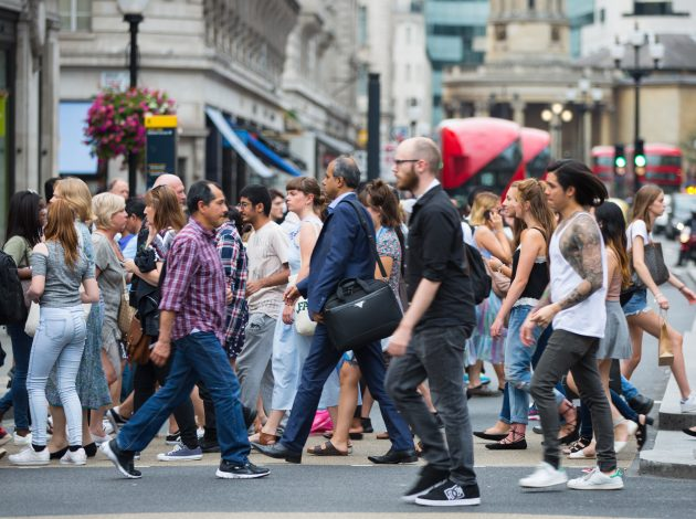 The UK's population continues to increase